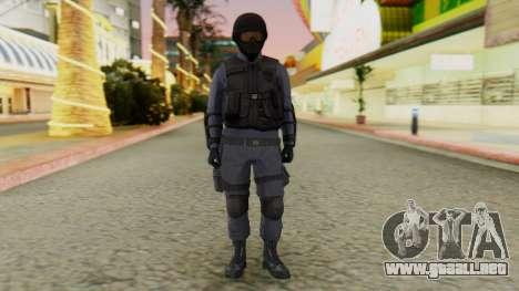 [GTA 5] SWAT para GTA San Andreas segunda pantalla