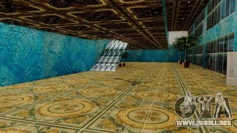 Wang Coches Showroom para GTA San Andreas quinta pantalla