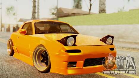 Mazda MX-5 BnSports para GTA San Andreas left