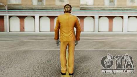 [PayDay2] Dallas para GTA San Andreas tercera pantalla