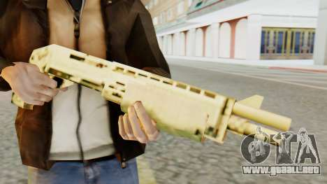 SPAS 12 SA Style para GTA San Andreas tercera pantalla