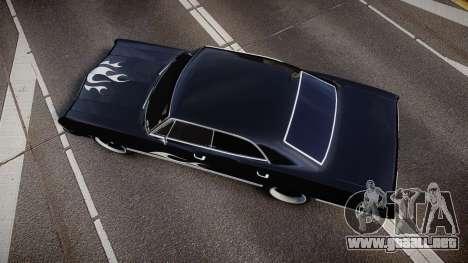 Chevrolet Impala 1967 Custom livery 4 para GTA 4 visión correcta
