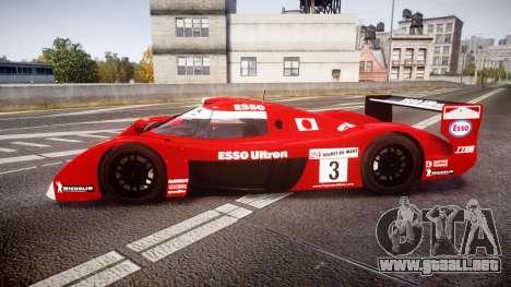 Toyota GT-One TS020 Le Mans 1999 para GTA 4 left