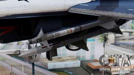 F-14A 213 Koninklijke Marine para la visión correcta GTA San Andreas