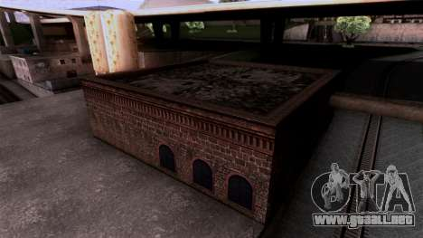 HQ Textures San Fierro Solarin Industries para GTA San Andreas tercera pantalla