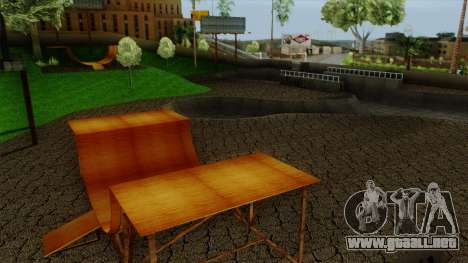 HD Skate Park para GTA San Andreas