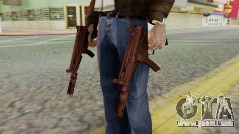 MP5K Silenced SA Style para GTA San Andreas tercera pantalla