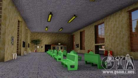 La estación en San Fierro Final para GTA San Andreas tercera pantalla