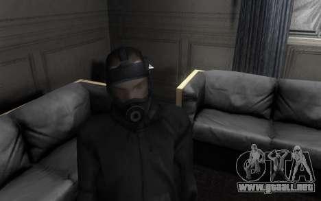 GTA5 Gasmask para GTA San Andreas