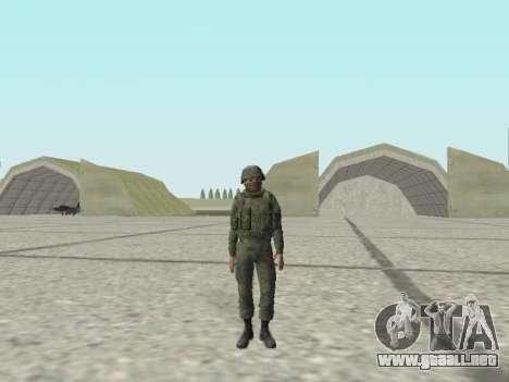 Pak combatientes de las tropas especiales del GR para GTA San Andreas novena de pantalla
