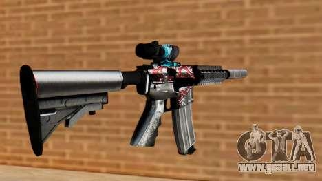 M4A1 UASS para GTA San Andreas segunda pantalla