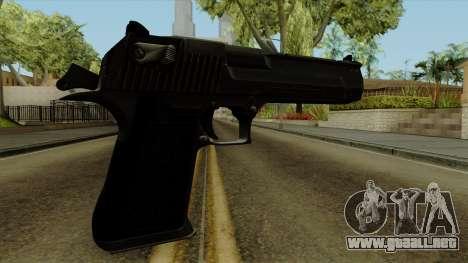 Original HD Desert Eagle para GTA San Andreas segunda pantalla