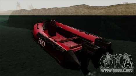 FDSA Dinghy para GTA San Andreas left