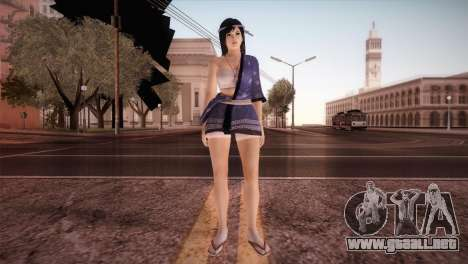 Momiji Kokoro2 DoA para GTA San Andreas segunda pantalla