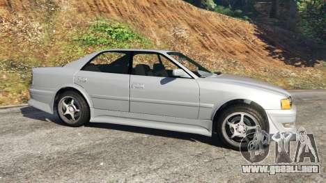 GTA 5 Toyota Chaser 1999 v0.3 vista lateral izquierda