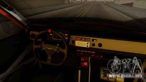 Renault 12 Gordini para la visión correcta GTA San Andreas