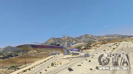 GTA 5 Xwing-Hydra Hybrid segunda captura de pantalla