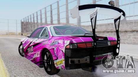 Nissan Silvia 2015 Karolina Pilarczyk para GTA San Andreas left