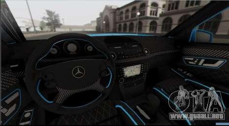 Mercedes-Benz E63 Qart Tuning para GTA San Andreas
