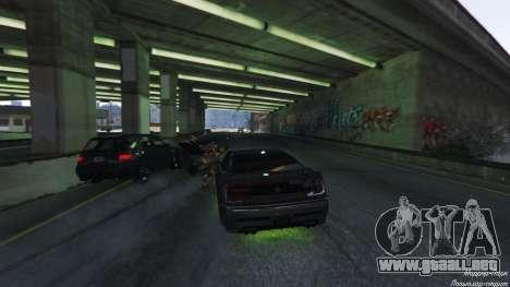 GTA 5 Trampa mortal en la carretera