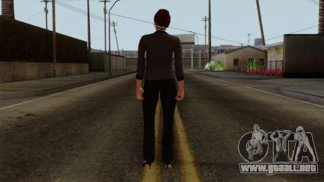 GTA 5 Online Female04 para GTA San Andreas tercera pantalla