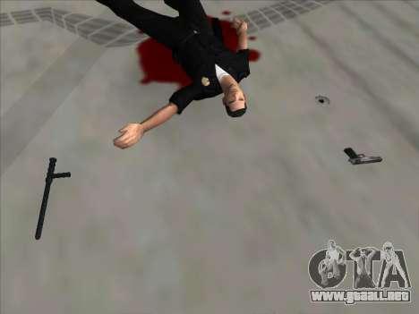 Weapons on the Ground para GTA San Andreas tercera pantalla