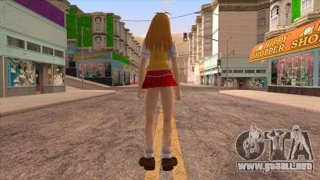 Sonsaku para GTA San Andreas tercera pantalla