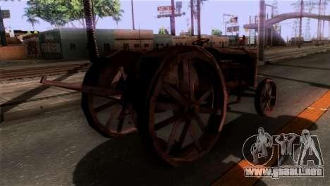 GTA 5 Rusty Tractor para GTA San Andreas left