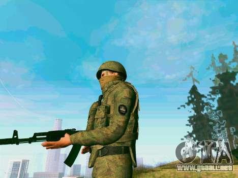 Pak combatientes de las tropas especiales del GR para GTA San Andreas sucesivamente de pantalla