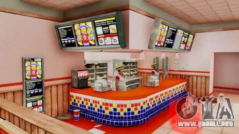 Real de comida rápida para GTA San Andreas