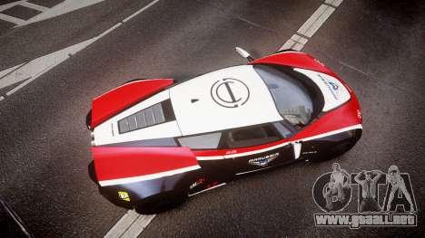 Marussia B2 2012 Jules para GTA 4 visión correcta