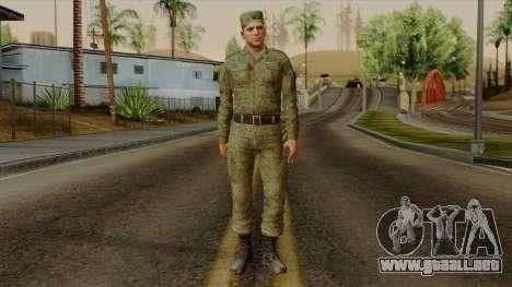 El ordinario moderno ejército ruso para GTA San Andreas segunda pantalla