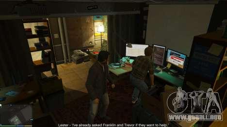 GTA 5 Story Mode Heists [.NET] 0.1.4 séptima captura de pantalla