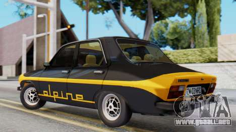 Renault 12 Alpine para GTA San Andreas left