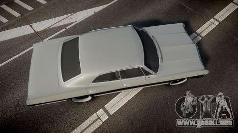 Chevrolet Impala 1967 Custom para GTA 4 visión correcta