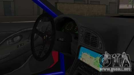 Mitsubishi Eclipse GSX 1999 Mugi Itasha para la visión correcta GTA San Andreas