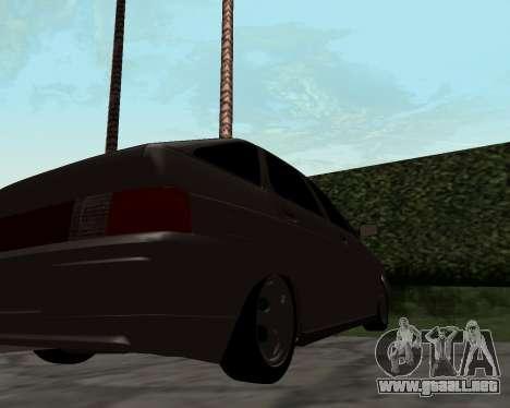 VAZ 2112 para la visión correcta GTA San Andreas