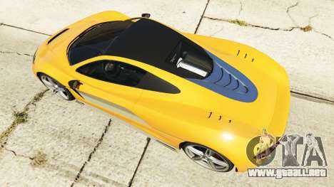 Progen T20 McLaren P1 para GTA 5