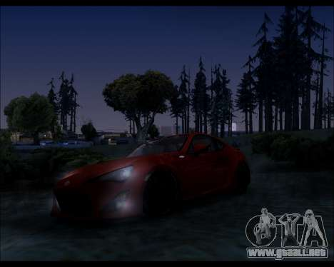 Project 0.1.4 (Medium/High PC) para GTA San Andreas quinta pantalla
