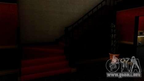Retextured CJ la casa en el estilo de Scarface para GTA San Andreas sucesivamente de pantalla