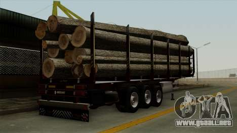 Trailer Fliegl v1 para GTA San Andreas left