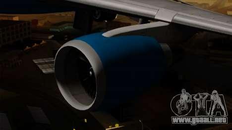 Boeing C-32 Air Force Two para la visión correcta GTA San Andreas