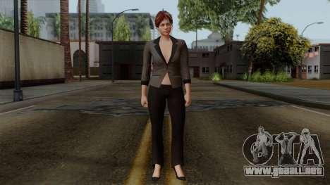 GTA 5 Online Female04 para GTA San Andreas segunda pantalla