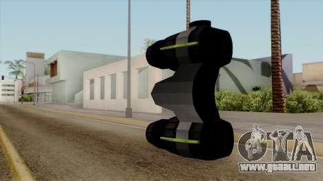 Original HD Thermal Goggles para GTA San Andreas segunda pantalla