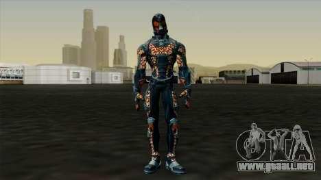 Ant-Man Orange Jacket para GTA San Andreas segunda pantalla