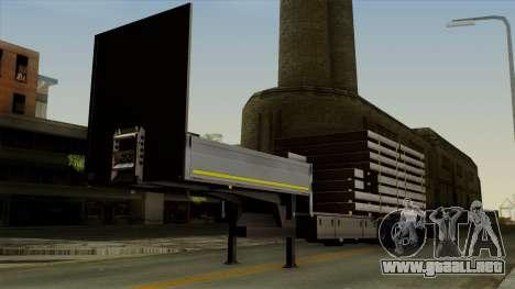 Flatbed3 Grey para GTA San Andreas