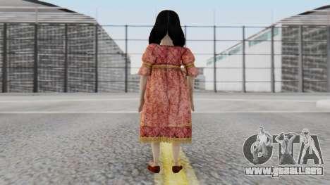 Cereza Bayonetta (child) para GTA San Andreas tercera pantalla