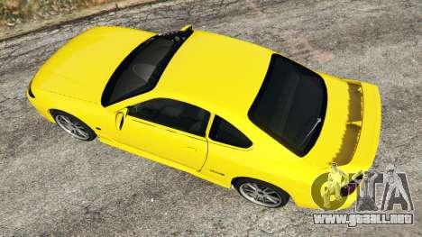 GTA 5 Nissan Silvia S15 v0.1 vista trasera