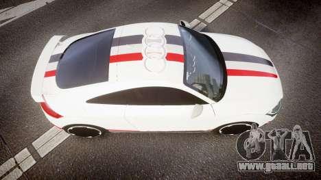 Audi TT RS 2010 Quattro para GTA 4 visión correcta