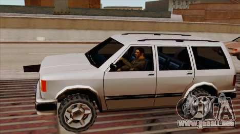 . Sin paneles de madera para la visión correcta GTA San Andreas